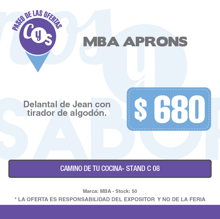 MBA Aprons