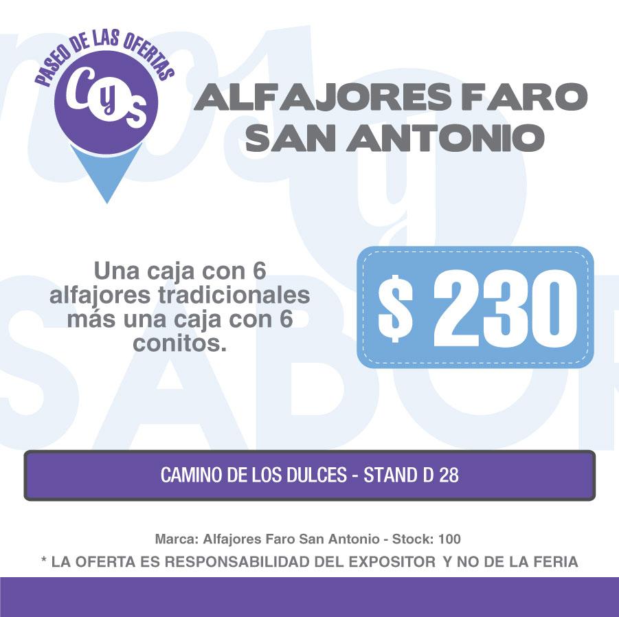 Alfajores Faro San Antonio