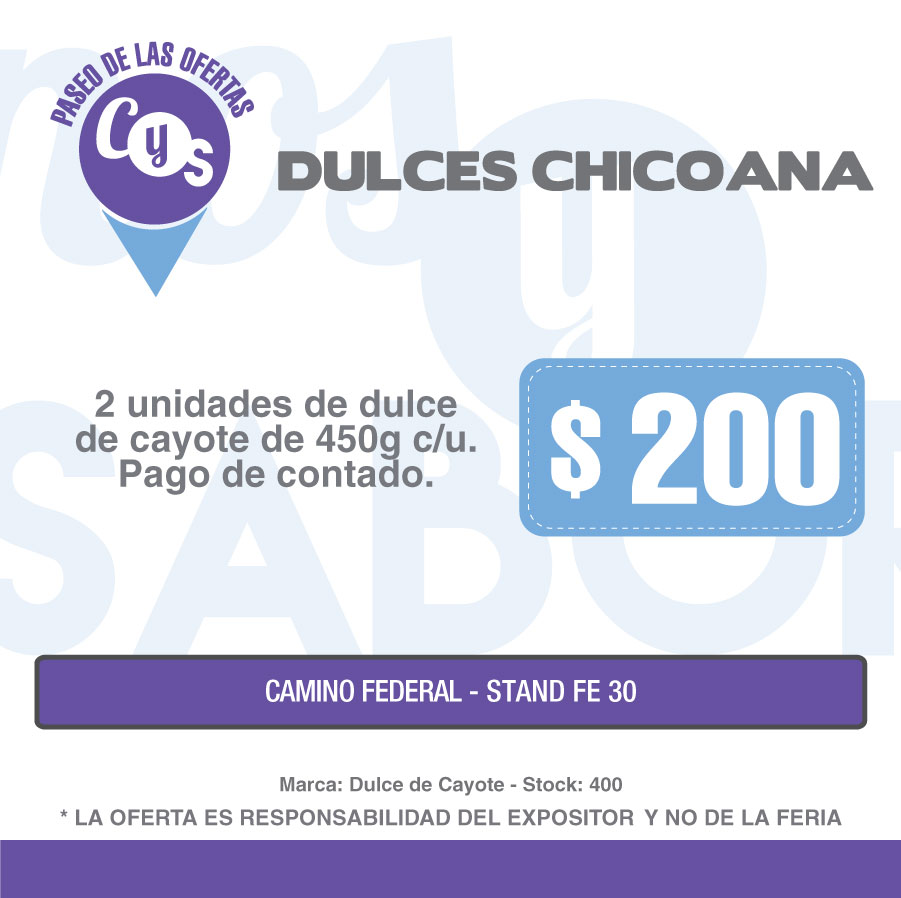 Dulces Chicoana